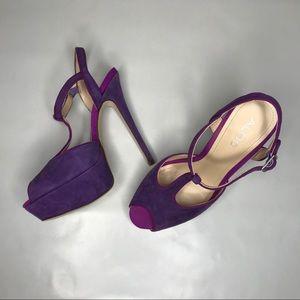 Pink and Purple ALDO Heels Size 37